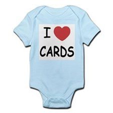 I heart cards Infant Bodysuit