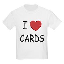 I heart cards T-Shirt