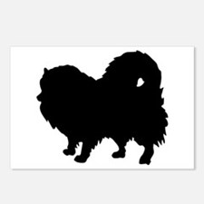 Pomeranian Silhouette Postcards (Package of 8)