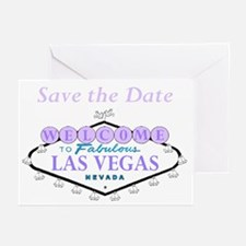 Save the Date Las Vegas Cards Pk of 10