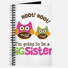 Retro Owl going to be Big Sis Journal