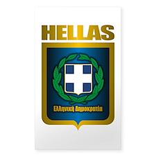 """""""Hellas"""" (Greece) Decal"""