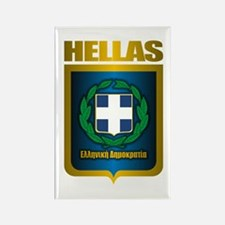 """Hellas"" (Greece) Rectangle Magnet"