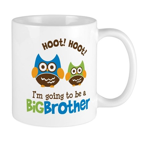 Retro Owl going to be a Big Brother Mug