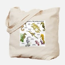 Seahorses & Seadragons Tote Bag