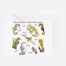 Seahorses & Seadragons Greeting Card