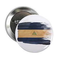 """Nicaragua Flag 2.25"""" Button"""