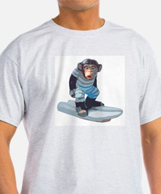 Surfmonkey T-shirt (grey)