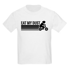 Kids Cycling Eat My Dust T-Shirt