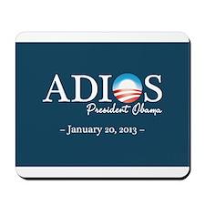 Adios Obama Mousepad