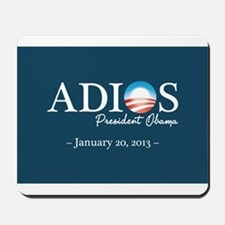 Adios Obama Mousepad