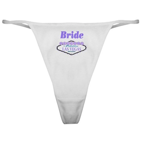 Bride Purple Classic Thong