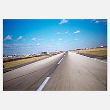 Runway at an airport, Philadelphia Airport, New Yo