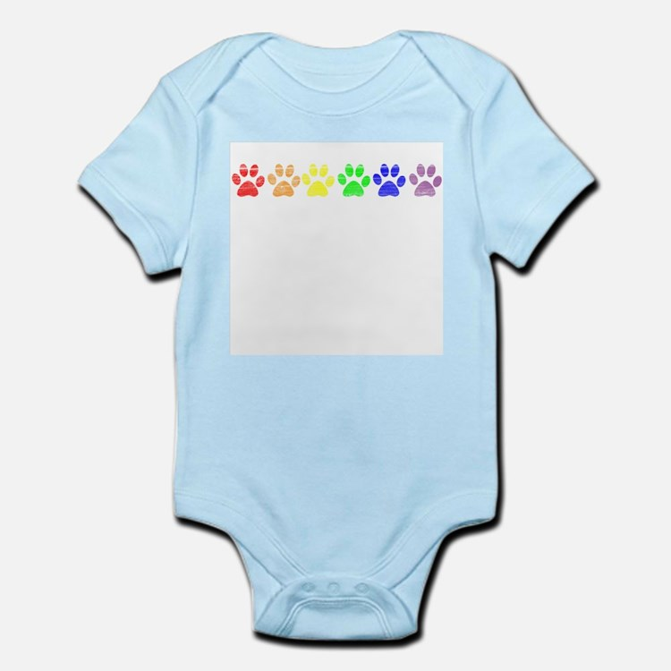 Pride Paws Infant Creeper