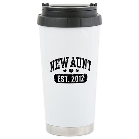 New Aunt 2012 Stainless Steel Travel Mug