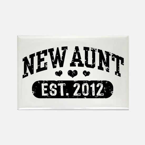 New Aunt 2012 Rectangle Magnet