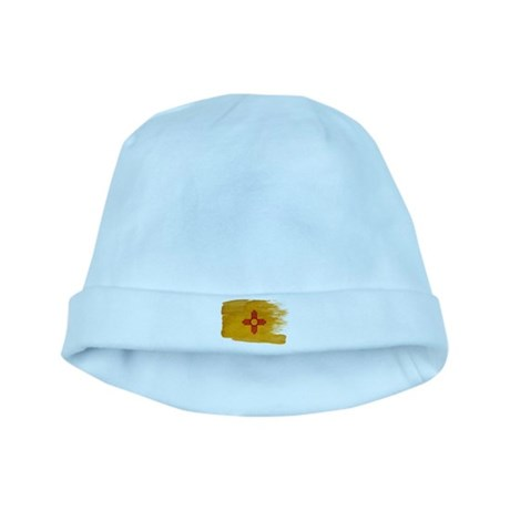 New Mexico Flag baby hat