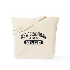 New Grandma 2012 Tote Bag
