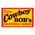 Cowboy Bob's Rectangle Sticker