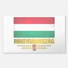 """Hungarian Pride"" Sticker (Rectangle)"