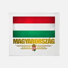 """Hungarian Pride"" Throw Blanket"