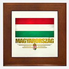"""Hungarian Pride"" Framed Tile"
