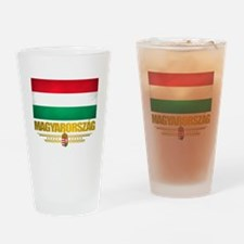 """""""Hungarian Pride"""" Drinking Glass"""