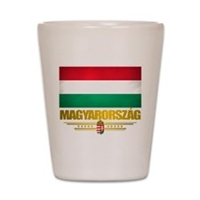 """Hungarian Pride"" Shot Glass"