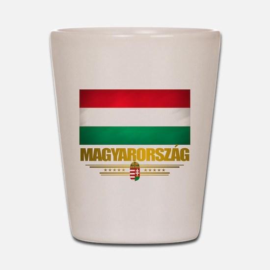 """""""Hungarian Pride"""" Shot Glass"""