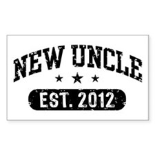 New Uncle Est. 2012 Decal