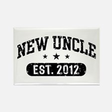 New Uncle Est. 2012 Rectangle Magnet