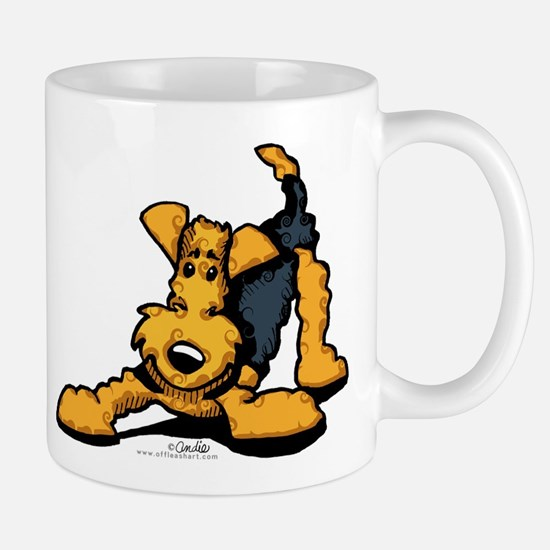 Airedale at Play Mug
