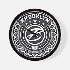 Brooklyn Logo Wall Clock