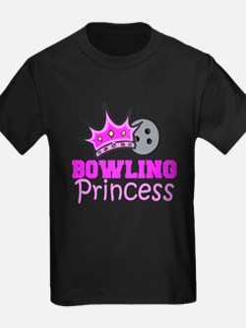 bowling princess girls T-Shirt