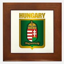 """""""Hungarian Gold"""" Framed Tile"""
