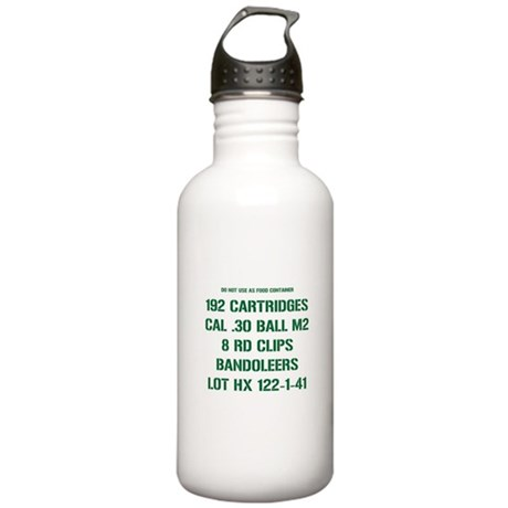 M1 Garand ammo can Stainless Water Bottle 1.0L