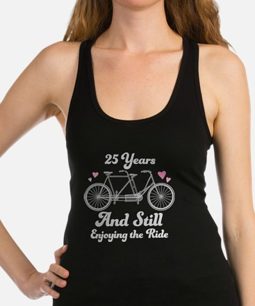 25th Anniversary Couples Gift Idea Tank Top