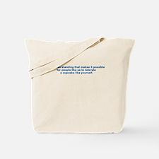 Cute Broderick Tote Bag