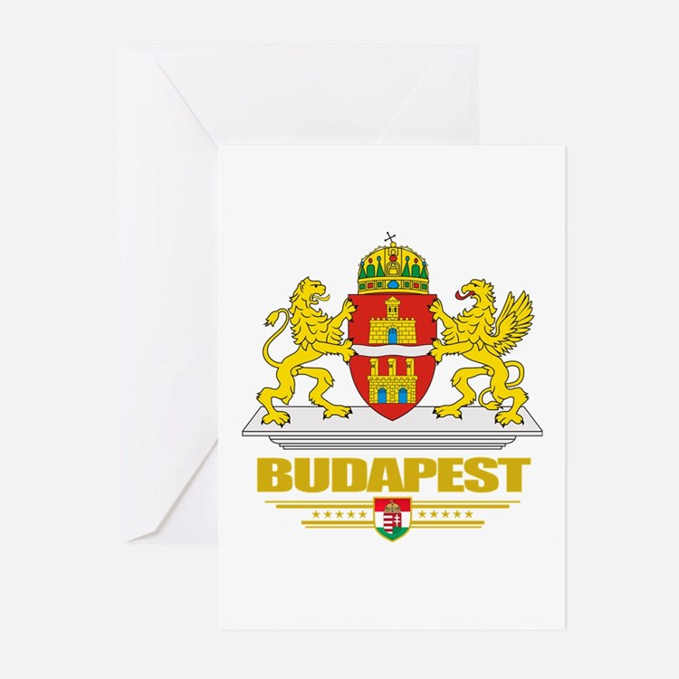 Budapest Greeting Cards (Pk of 10)