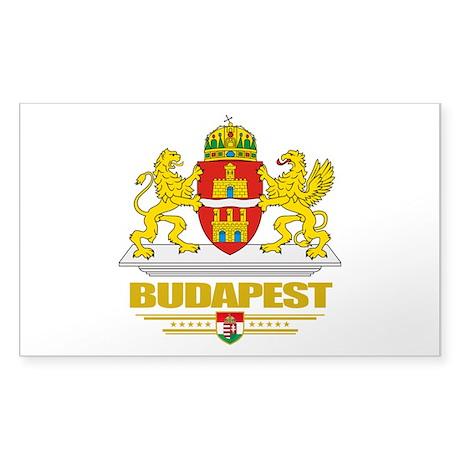 Budapest Sticker (Rectangle)