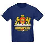Budapest Kids T-shirts (Dark)