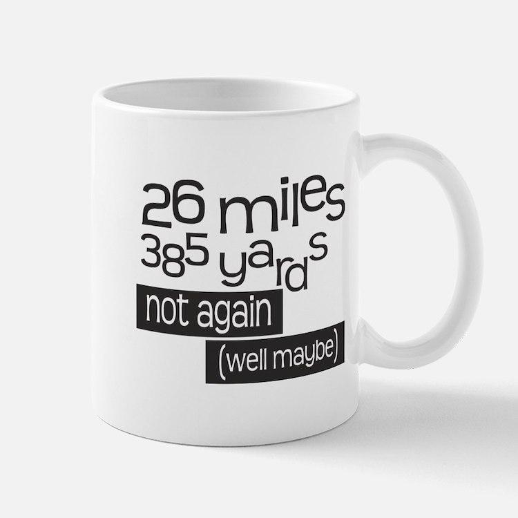 Funny 26.2 Marathon Mug