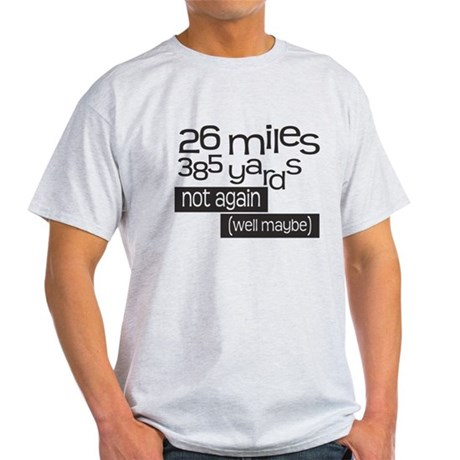 Funny 26.2 Marathon Light T-Shirt