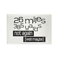 Funny 26.2 Marathon Rectangle Magnet