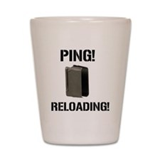 M1 Garand Enbloc clip ping Shot Glass