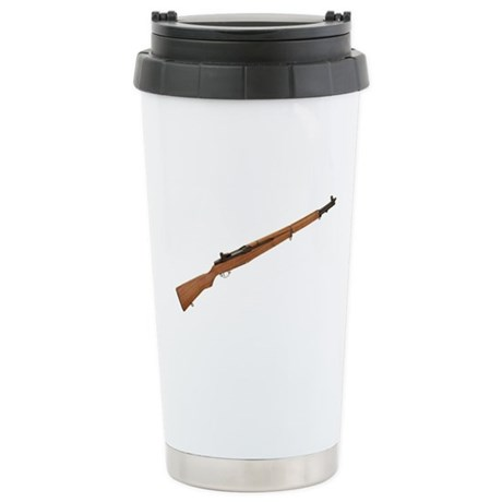 M1 Garand Stainless Steel Travel Mug