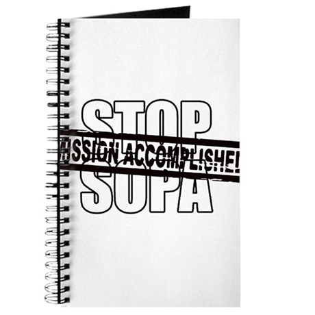 Stop Sopa - Mission Accomplis Journal