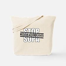 Stop Sopa - Mission Accomplis Tote Bag