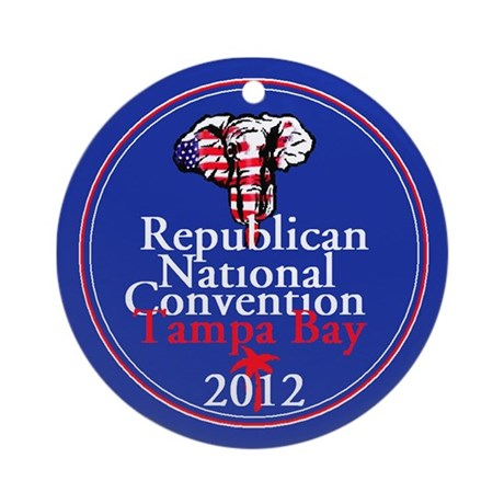 Republican Convention Ornament (Round)