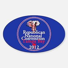 Republican Convention Sticker (Oval)
